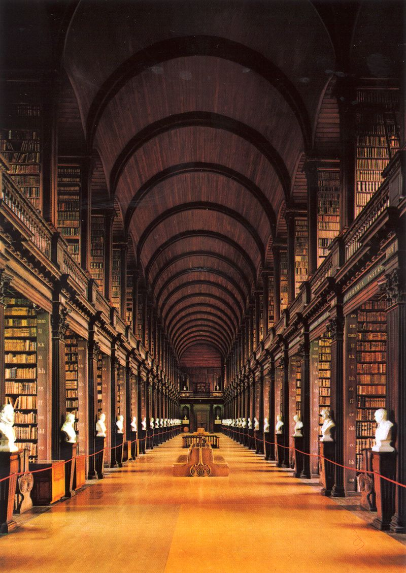 Trinity College Library Book of Kells Trinity College Dublin Book of