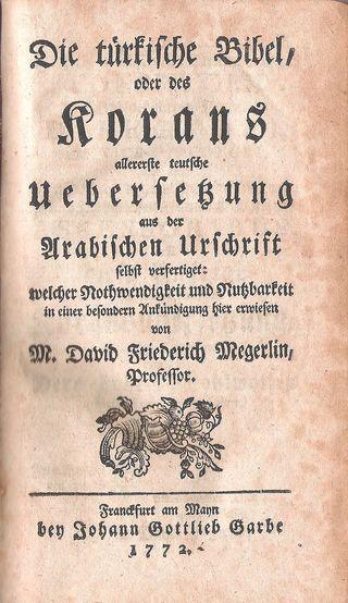 Koran_by_Megerlein_1772