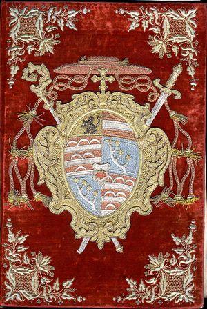 Samt-Bucheinband_Erzbischof_Firmian