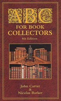 ABC's For Book Collecting