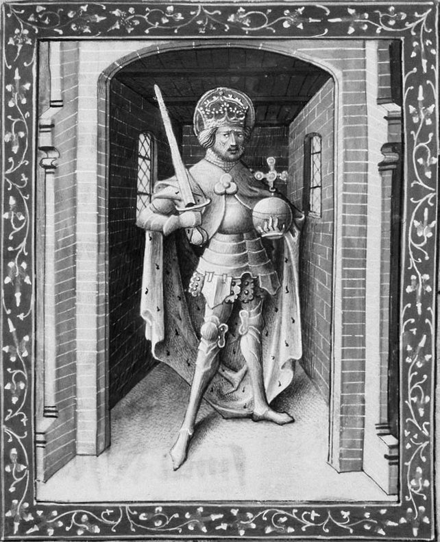 Charlemagne_grisaille_1450-1460