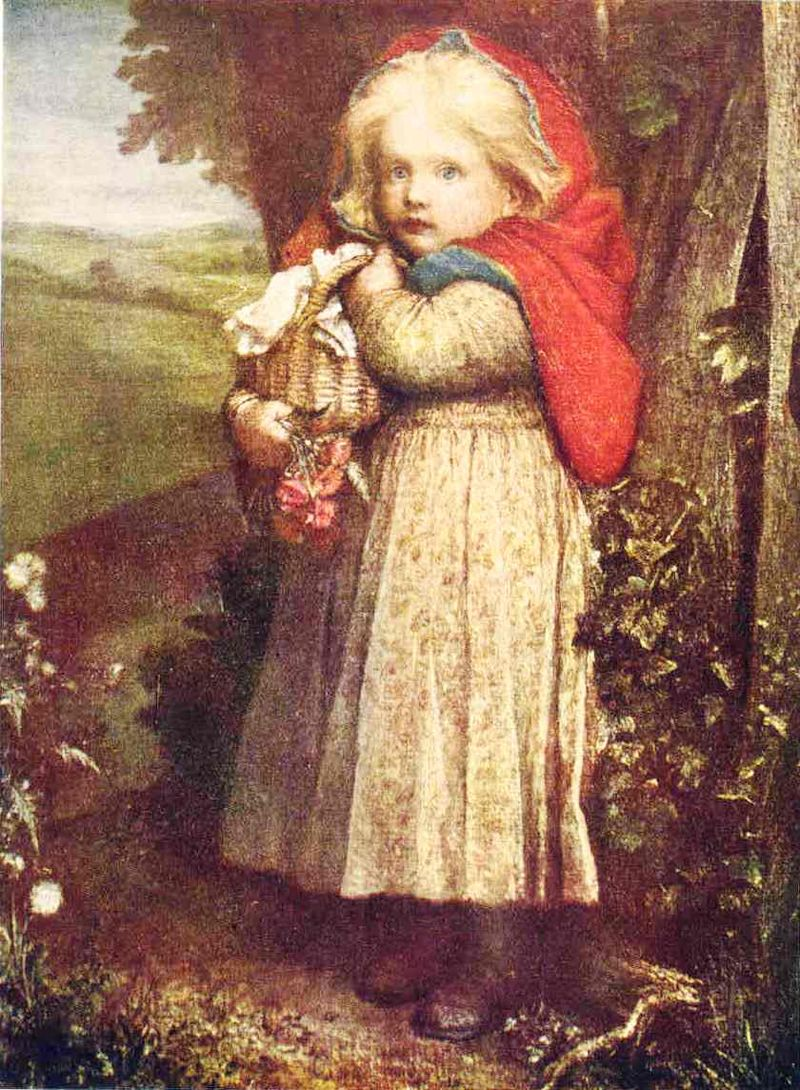 George_Frederic_Watts_-_Red_Riding_Hood_-_Project_Gutenberg_eText_17395