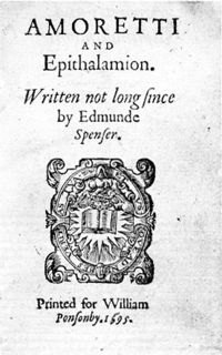 edmund spencers sonnet 7 5 Sonnet 75 is taken from edmund spenser's poem amoretti which was published in 1595 the poem has been fragmented into 89 short sonnets that combined make up the whole of the poem.